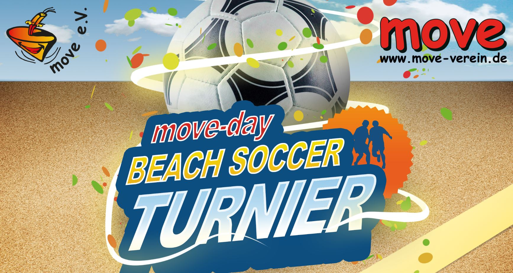 Beachsoccer-Turnier moveday